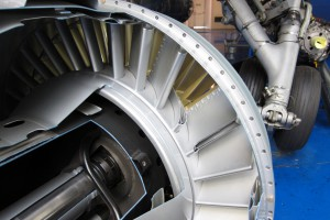 Turbine_inlet_guide_vanes_of_Atar_turbojet